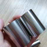 Tubo del cilindro del alambre de la cuña del acero inoxidable del filtro del equipo industrial