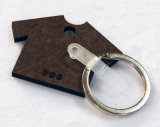승화를 위한 t-셔츠 모양 나무로 되는 열쇠 고리