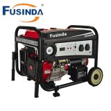 3 КВА Fusinda бензин бензиновый генератор с плоской колеса