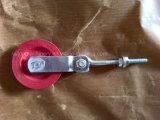 Polea de acero con una polea para el levantamiento