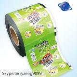 L'abitudine ha stampato il film di materia plastica del rullo di imballaggio per alimenti di BOPP/CPP