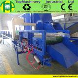 Bottiglia di plastica residua dello scomparto pp del timpano della benna dell'HDPE che ricicla riga