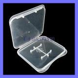 Cassa di scheda di plastica di vendita calda di deviazione standard del micro di caso di memoria della scheda di memoria di TF