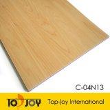 Textura de madera resistente PVC Suelos deportivos de Baloncesto (C-04N13).