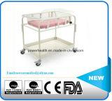 Heißer Verkaufs-überzogene Krankenhaus-Baby-Stahllaufkatze
