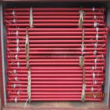apoyo de acero ajustable galvanizado 2200-4000m m del andamio para el sistema del encofrado