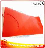 Chaufferette industrielle de silicones de la couverture de chauffage de silicones 1200X1000mm