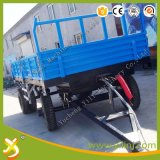 De robuuste Aanhangwagen van de Stortplaats van het Landbouwbedrijf van het Concept/de Aanhangwagen van de Kipper van de Tractor