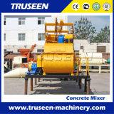 Máquina gêmea do bloco de cimento da espuma do misturador concreto do eixo