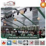 Chapiteaux transparents de réception de mariage de toit de première tente claire