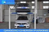 Подъем автомобиля столба 4 Цилиндром для выравнивания