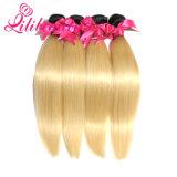 Выдвижение волос Ombre оптовой продажи ранга человеческих волос 8A