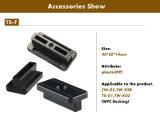 Alta qualidade Ss e clipes de plataforma de plástico WPC