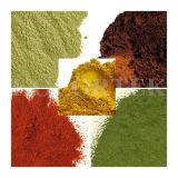 Pigmentos de sabão, Ultramarinos e Óxidos