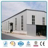 Edificios pre dirigidos de acero del metal de la estructura del diseño y de la fuente