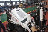 중국 정원사 노릇을 하는 뜰을 만들기를 위한 소형 미끄럼 수송아지 로더 Hy380