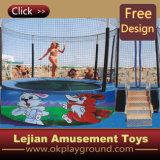 Très populaire en Europe de l'équipement de jeu extérieur lits 12179Trampoline (C)