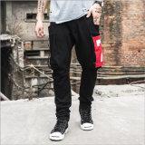 De estilo occidental de la moda pantalones casuales para la ropa de los Jóvenes
