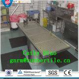 Stuoie di gomma della cucina antiscorrimento, stuoie di gomma dell'hotel, stuoia antibatterica del pavimento della stuoia di gomma di drenaggio