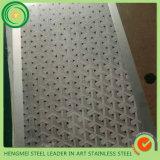 Prix d'acier inoxydable de matériau de construction en métal par plaque d'acier inoxydable gravure à l'eau forte du miroir PVD Claddind de kilogramme 8k