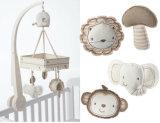 有機性赤ん坊のまぐさ桶の音楽的な動きのこつの鐘のおもちゃ