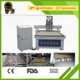 Jinan Manufacturer Stepper Motor Rack 1530 und Gear Woodworking CNC Router Machine