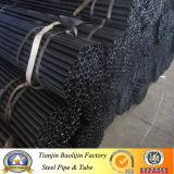 Ms de negro y tubo de acero laminado en frío galvanizado