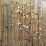 Arts di legno Crafts con Flowers e Birds (LH-102000)