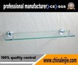 Mensola di vetro di serie dei montaggi della stanza da bagno dell'acciaio inossidabile di alta qualità per l'hotel (LJ55412)