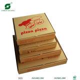 De aangepaste Doos van de Pizza van de Grootte Bruine met het Embleem van het Af:drukken van het Watermerk