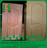 Peau de porte de placage de bois de chine de prix bas