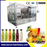 Het automatische Sap met Heet drinkt Machine van het Flessenvullen van het Huisdier van het Water de Bottelende Verpakkende