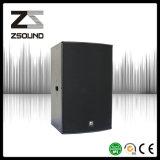 Passive Zsound U15 HiFi система PA диктора молитвенного места 15 дюймов профессиональная