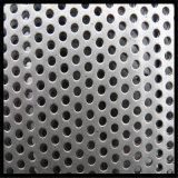 Plaque perforée percée de feuille percée par métal de l'acier inoxydable 316 du matériau de construction 304 pour la décoration
