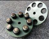 Accoppiamento di gomma, accoppiamento dell'unità di elaborazione fatto con poliuretano o Csm/SBR
