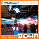 Múltiples formas creativas Pantalla LED de etapa P4.8mm