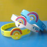 Bracelets de silicones de forme de montre, bracelets d'église