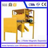 Separatore magnetico del rullo per il silicone, macchinario del minerale del quarzo