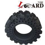 10-16.5 중국 Pneu Plein Neumatico Solido에서 12-16.5마리의 살쾡이 미끄럼 수송아지 단단한 타이어