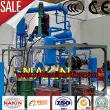 Nueva planta de reciclaje de residuos de aceite del motor, aceite de regeneración de la máquina usada