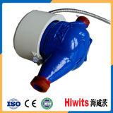 Compteur d'eau électronique en plastique chaud 15mm-20mm Lecture à distance par GPRS