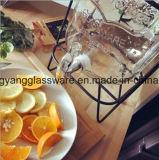 Frasco do suco da bebida da amostra livre/frasco de vidro do armazenamento com torneira
