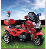 La moto automatique en gros de police partie la moto électrique de police de véhicule de jouet de garçons