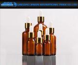 Farbiger kosmetischer Glastropfenzähler-Behälter für wesentliches Öl