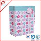 2016 Bolsa de papel comercial bolsa de papel de regalo de flores
