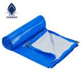 PE lona azul rollo cubierta de lona LONA lona de plástico de diseño de Vietnam