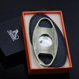 Taglierina di sigaro di stile dell'ondulazione del bronzo di alta qualità di Lubinski (ES-EB-137)