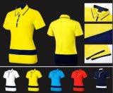 Breve maglietta di golf delle donne della camicia di polo del manicotto