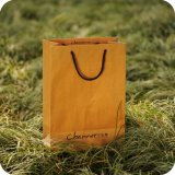 Kraftpapier Paper Gift Bag mit Twist Handle oder Flat Handle