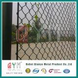 고품질 정원 Fence/PVC에 의하여 입히는 사용된 체인 연결 정원 담